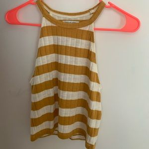 American Eagle Stripped Halter Top